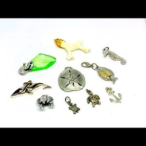 Jewelry - Sea inspired 10pc pendant lot